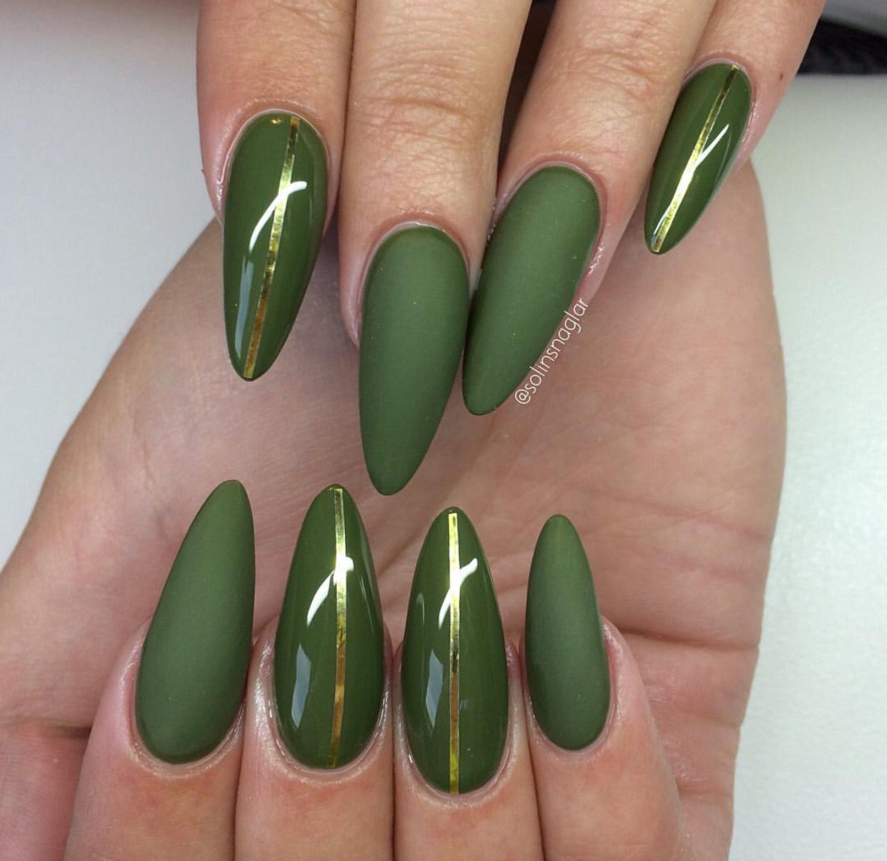 Pin by Kairishavon on Polished! | Pinterest | Sharp nails