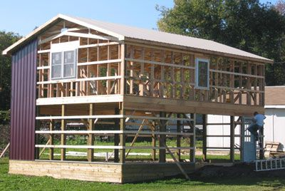 Find This Pin And More On Pole Barn House Plans