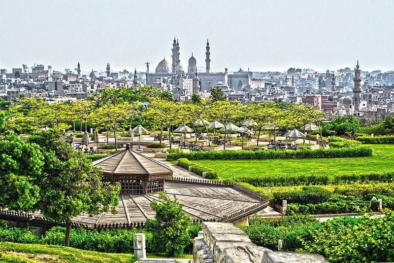 Azhar Park Cairo Egypt The Whole Wide World Cairo Egypt