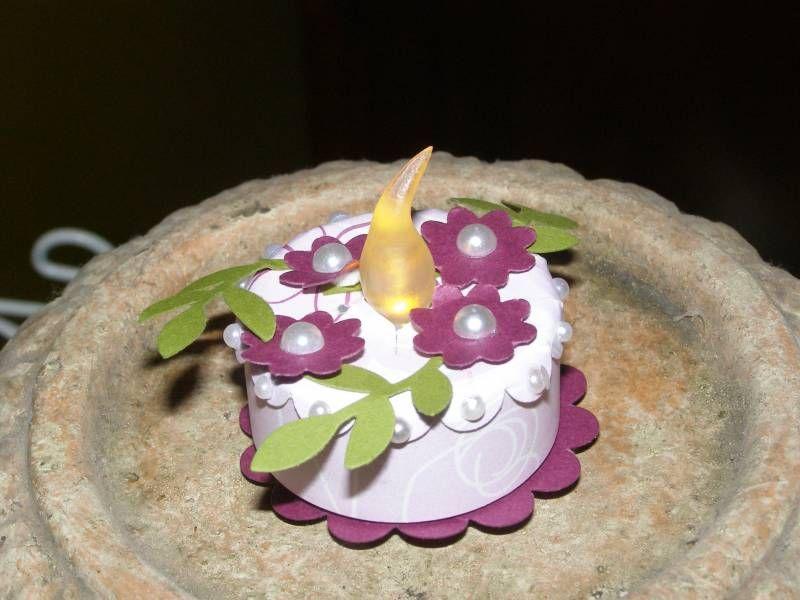 Birthday Candle Cake By Kiwiinaus
