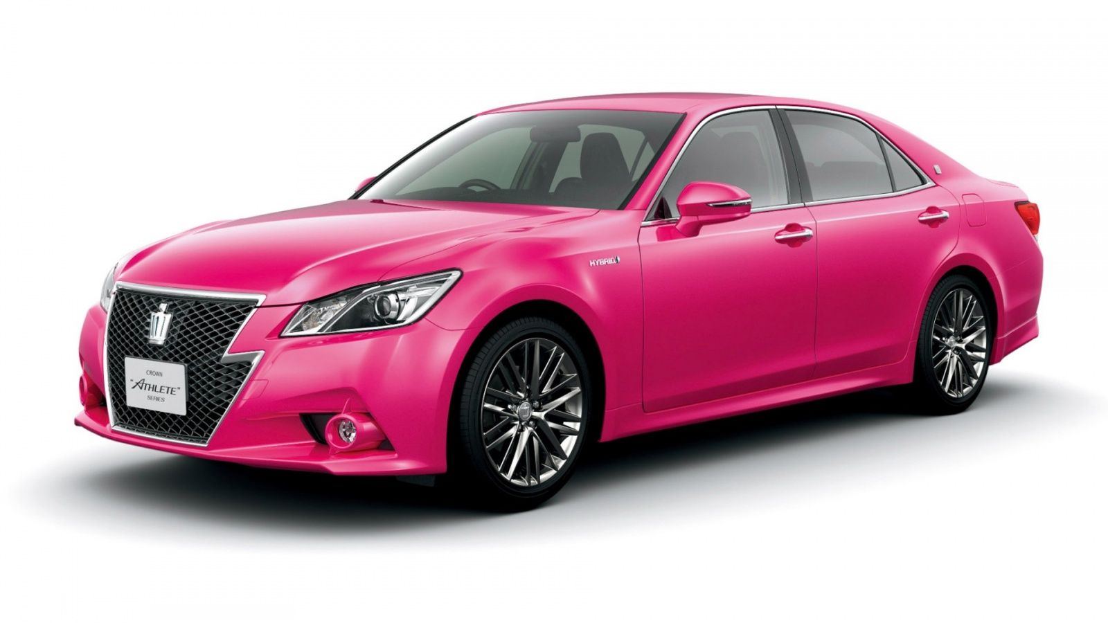 Merveilleux Toyota To Sell Hot Pink Crown In Japan