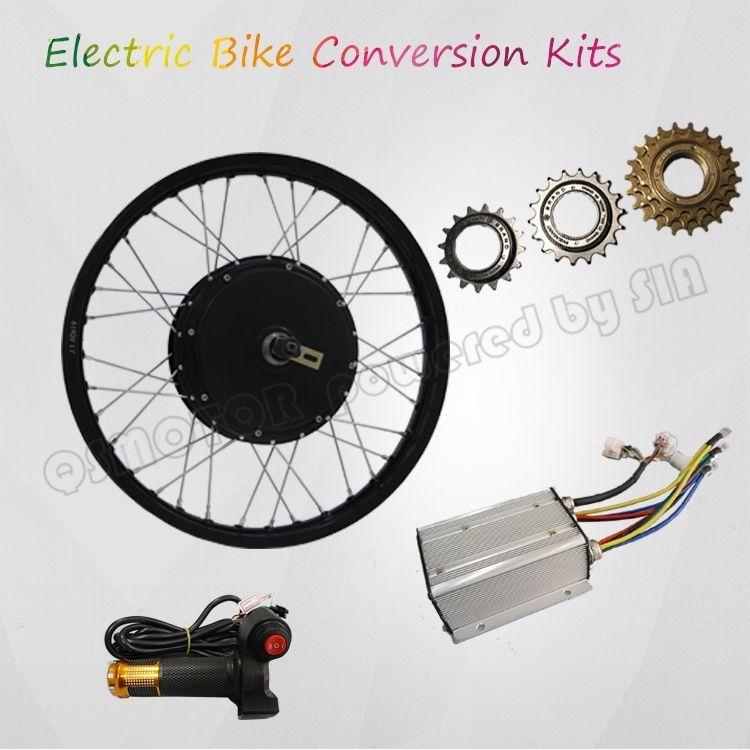 Qs Motor 205 Electric Bicycle Kit E Bike Kit Spoke Hub Motor