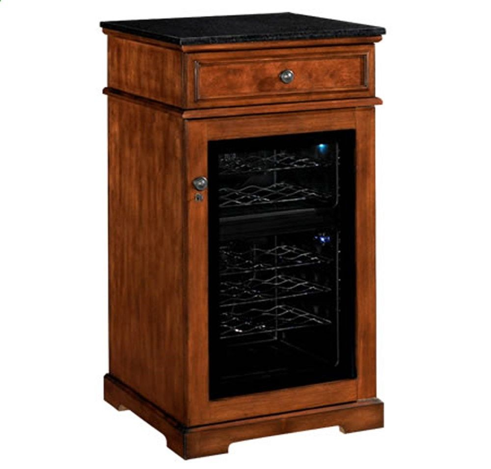 Madison Thermoelectric Wine Coolers in Rose Cherry | Wine Cooler ...