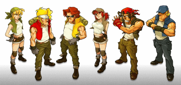 metal slug character select - Google Search | Character Designs in