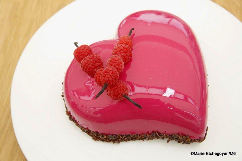 c 39 est crop bon chez vanille bavarois chocolat framboise