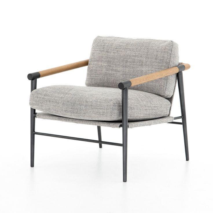 Raven Script Accent Chair: Four Hands Furniture, Accent