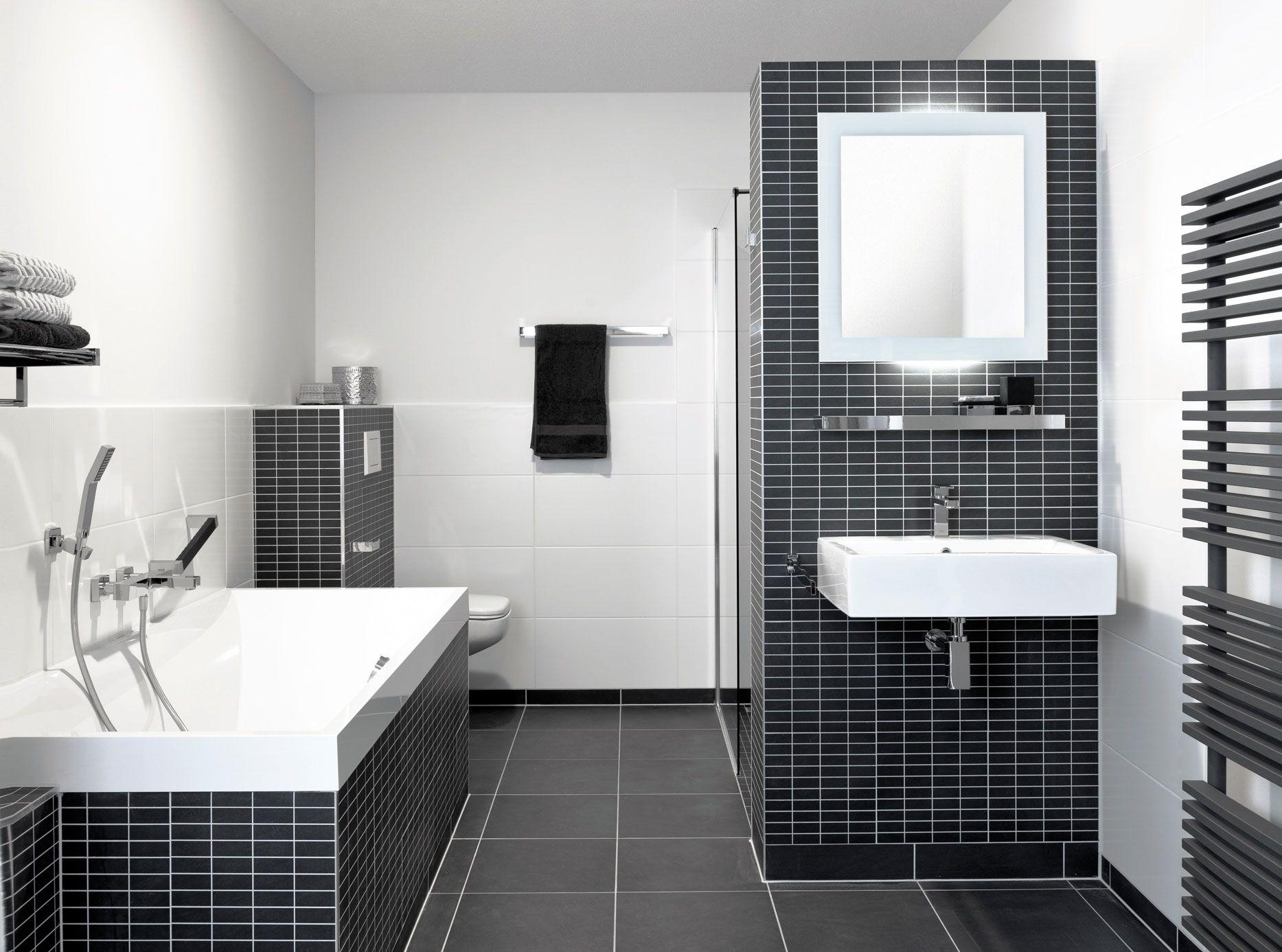 Een badkamer met een wow-effect. Dit wordt voornamelijk gecreëerd ...