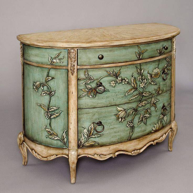 renovación de la pintura de muebles antiguos | idealar | Pinterest ...