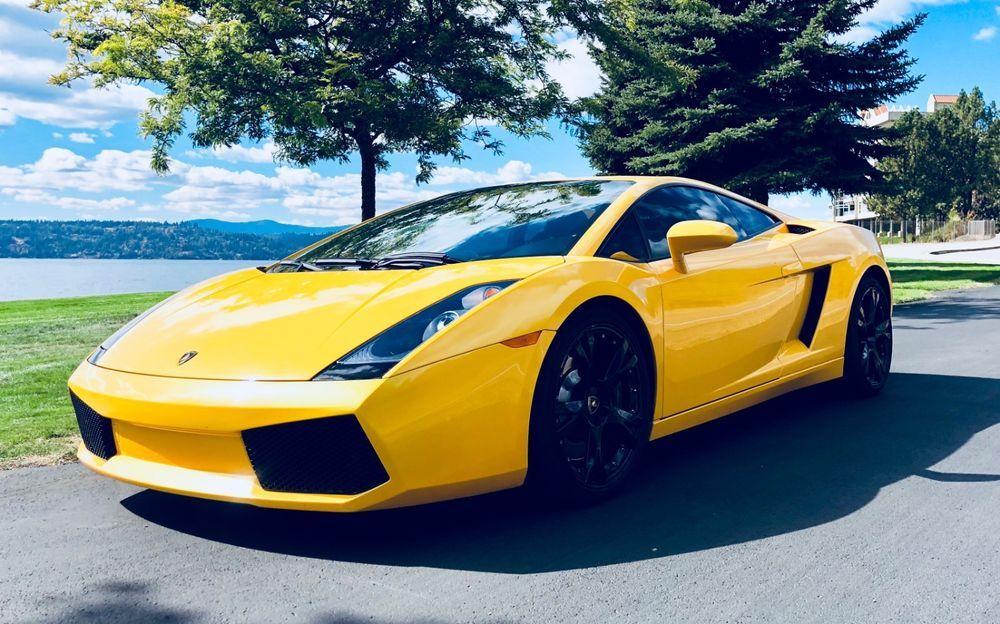 2004 Lamborghini Gallardo Gallardo Yellow Lamborghini Gallardo