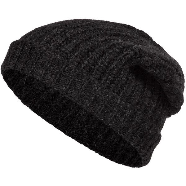 CLOSED Alpaca-Wool Knit Beanie ( 50) ❤ liked on Polyvore featuring  accessories bf3764c254e