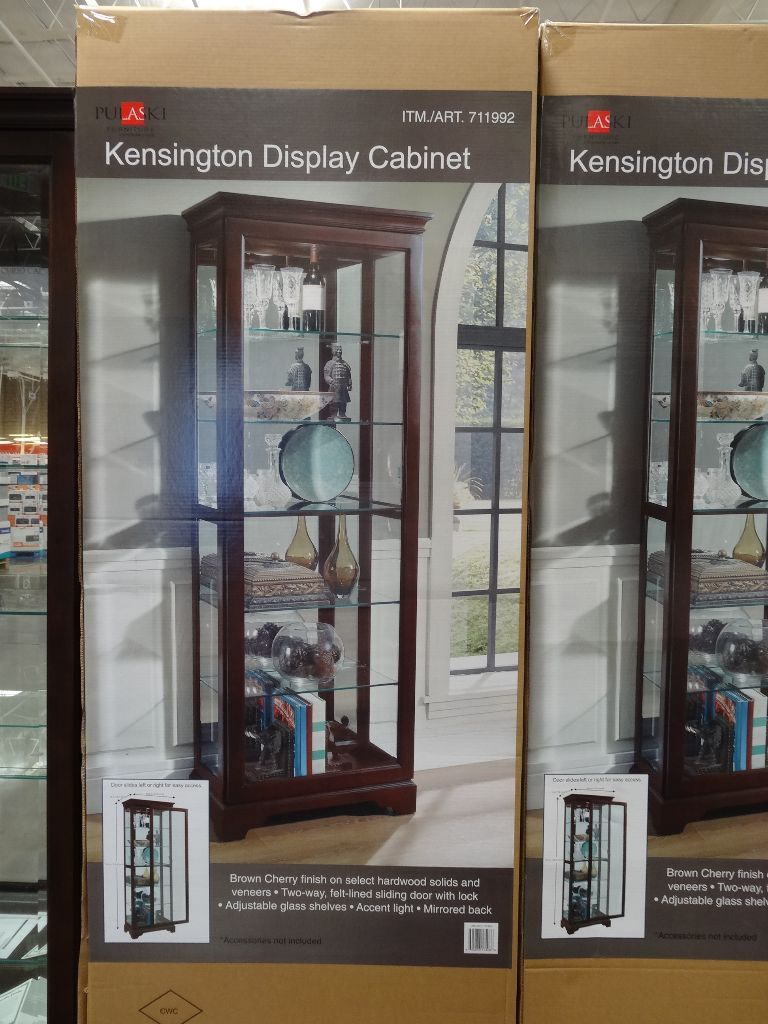 Garage Cabinets At Costco Pulaski Kensington Display Cabinet Costco Bar Room In 2019
