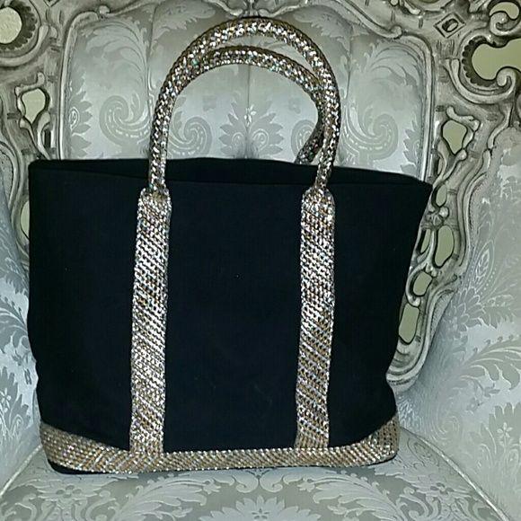 Victoria's Secret bag Victoria's Secret bag. 12 in deep. 13 1/2 wide. 3 pockets Victoria's Secret Bags