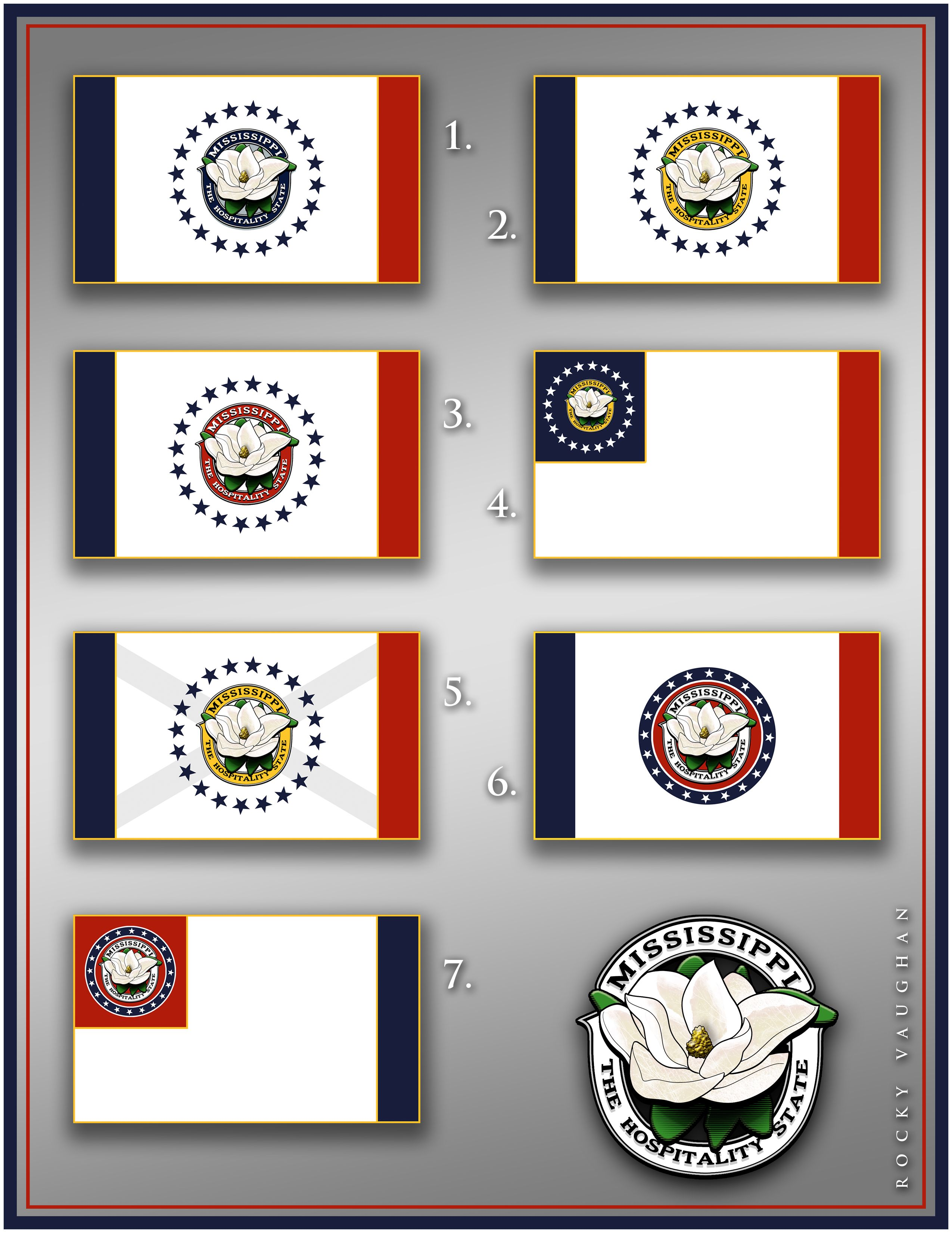 Concepts 1 7 Flag Design Mississippi Flag State Flags