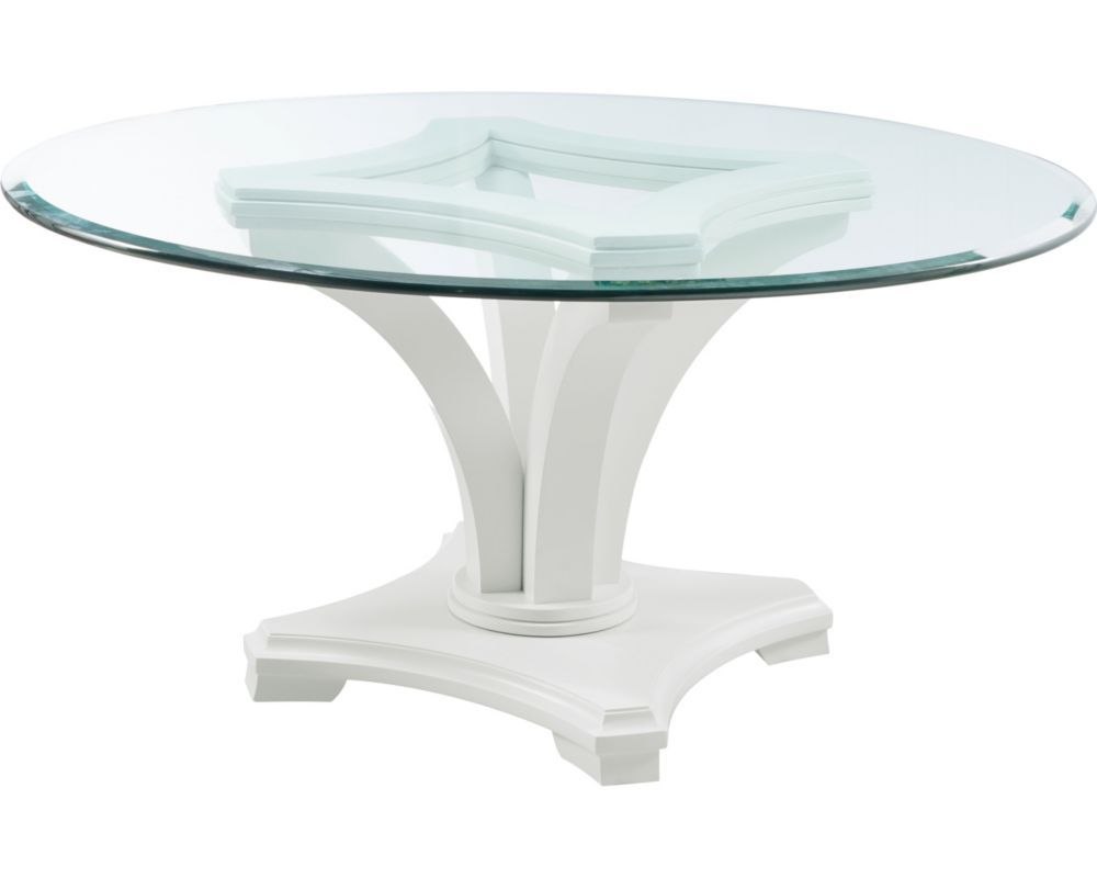 Manuscript Round Table Base Sku 82925 730 Glass Round Dining
