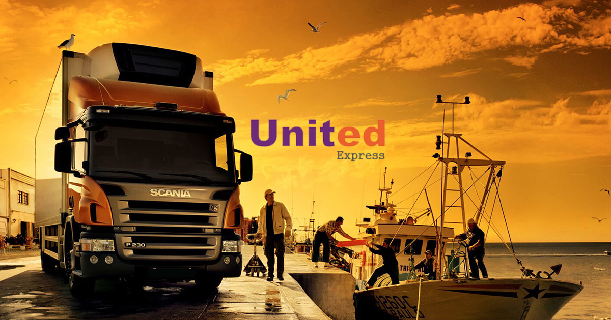 United Express International courier service provider