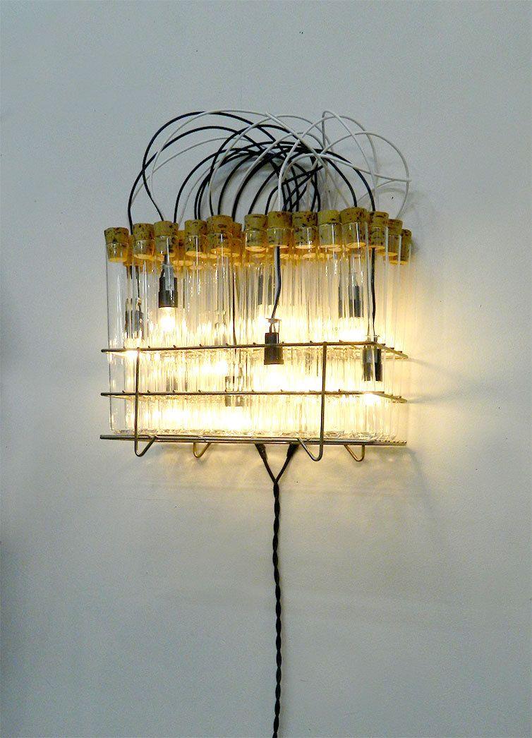 Wall Sconce, Wall Lighting, moaned lighting, lighting, test tube ...