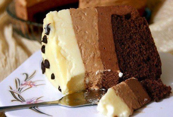 Торт «Три шоколада» / Новые дети