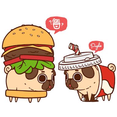 Hamburger and Soda