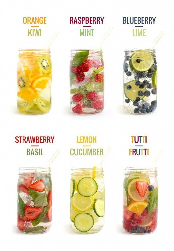 Skinny Cheap Diets The Yummiest Water Detox Recipes to Try   Recetas
