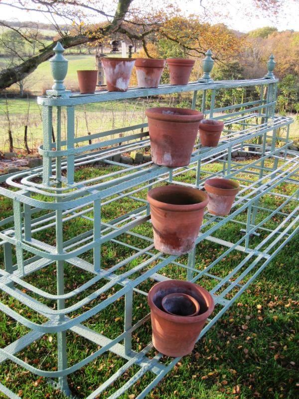 Iron Garden Pot Stands