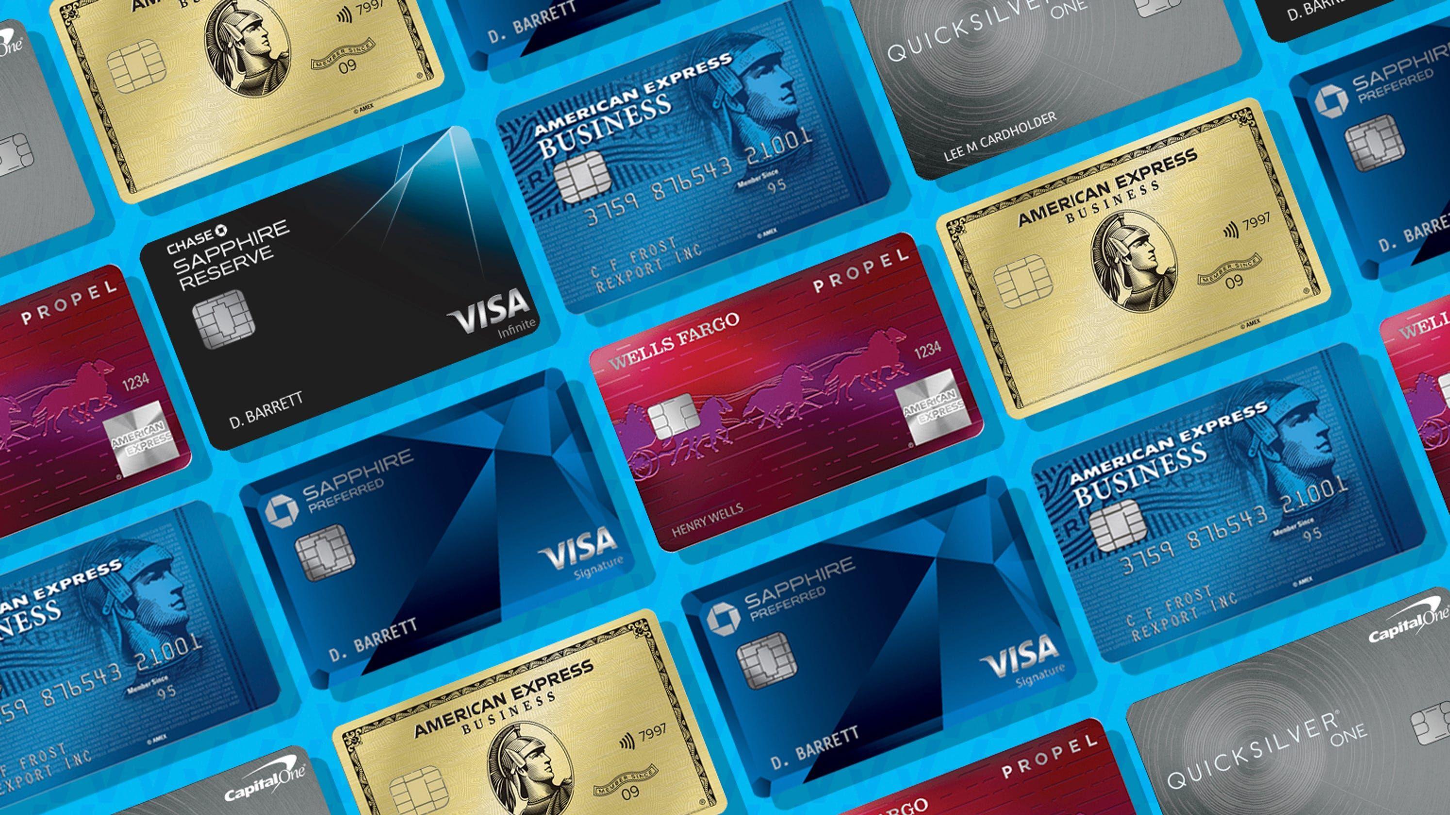 The best credit cards of 2020 Credit card design, Best