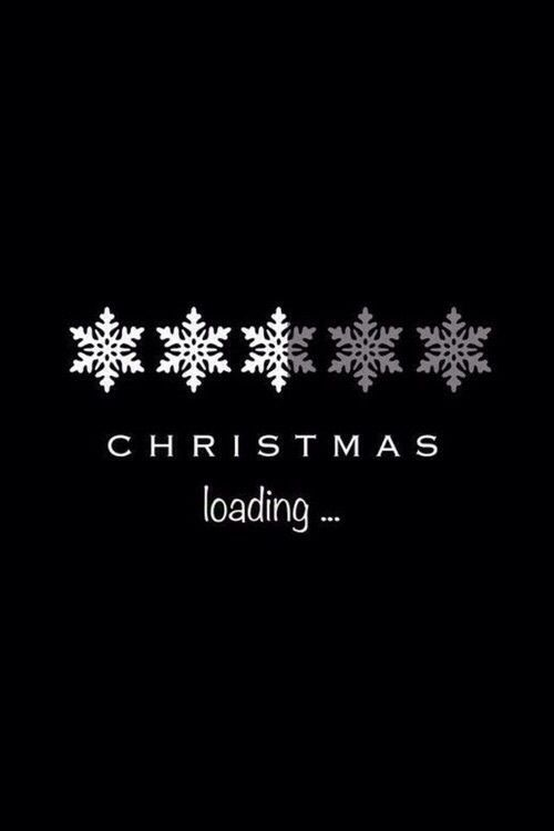 Immagine Di Christmas Loading And Snow Wallpaper Iphone Christmas Christmas Phone Wallpaper Xmas Wallpaper