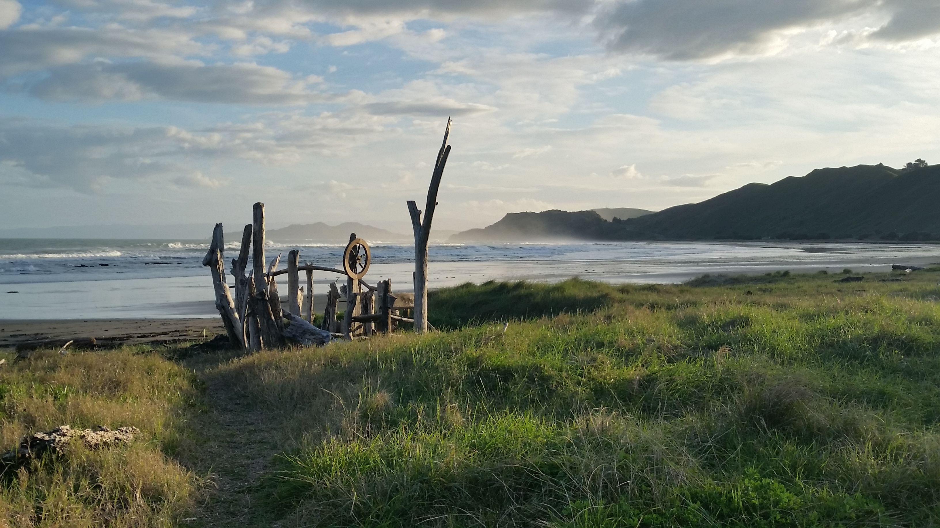 Makorori Beach, Gisborne, NZ.