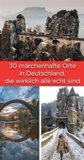 30 märchenhafte Orte in Deutschland, die wirklich alle echt sind #vacationdestinations