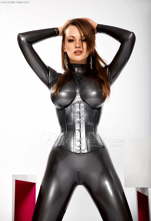 c2b8cf1147 Alexandra Potter Latex Fashion