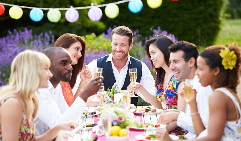 Dinner Party Fun Ideas Part - 50: Explore Décor Ideas, Outdoor Dinner Parties And More!