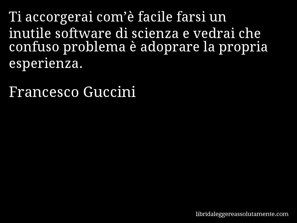 Cartolina Con Aforisma Di Francesco Guccini 15 Citazioni