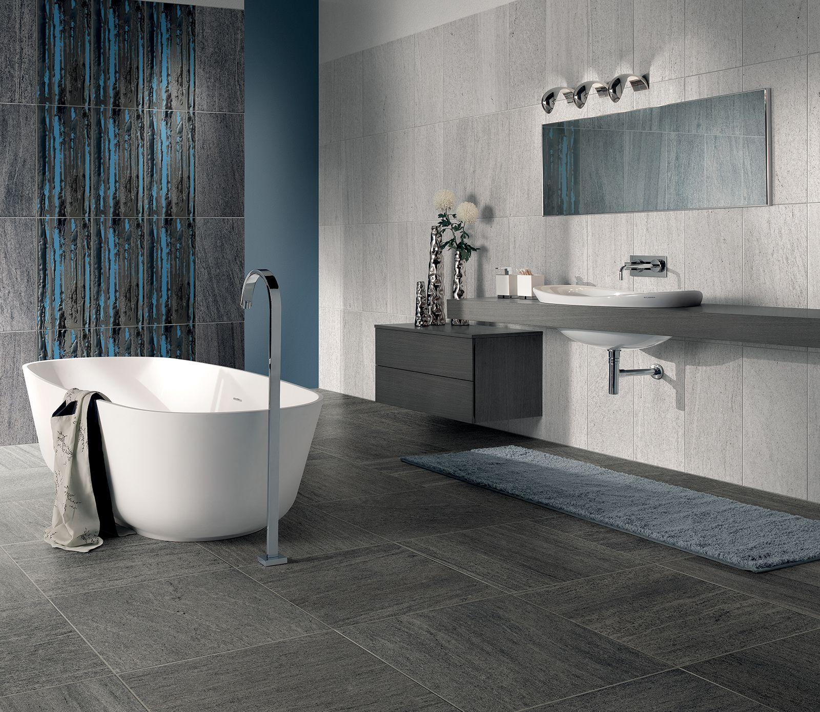 Pavimenti per il bagno. Dal travertino al gres | House projects and ...