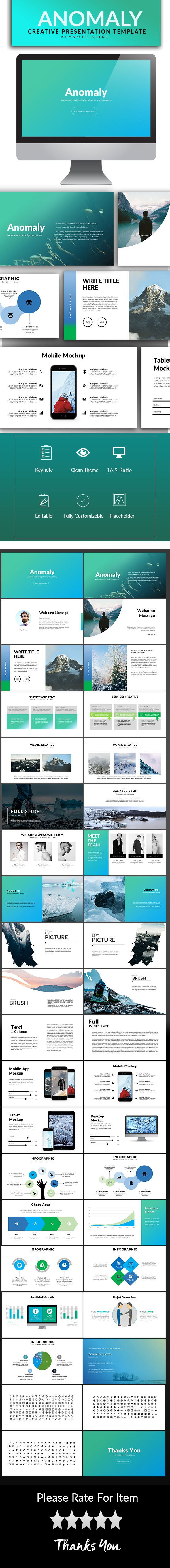 Anomaly keynote template ccuart Gallery