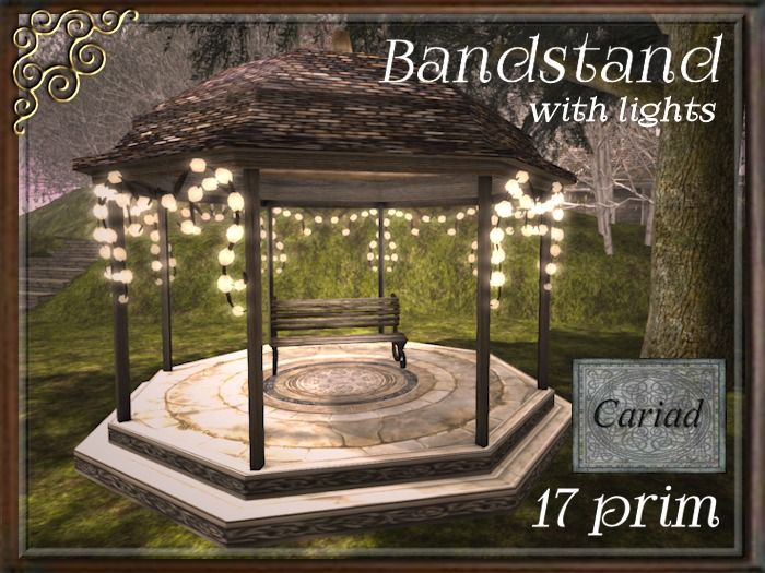 ** Bandstand with Lights **