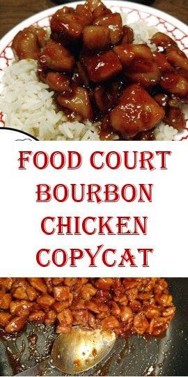 Food Court Bourbon Chicken Copycat