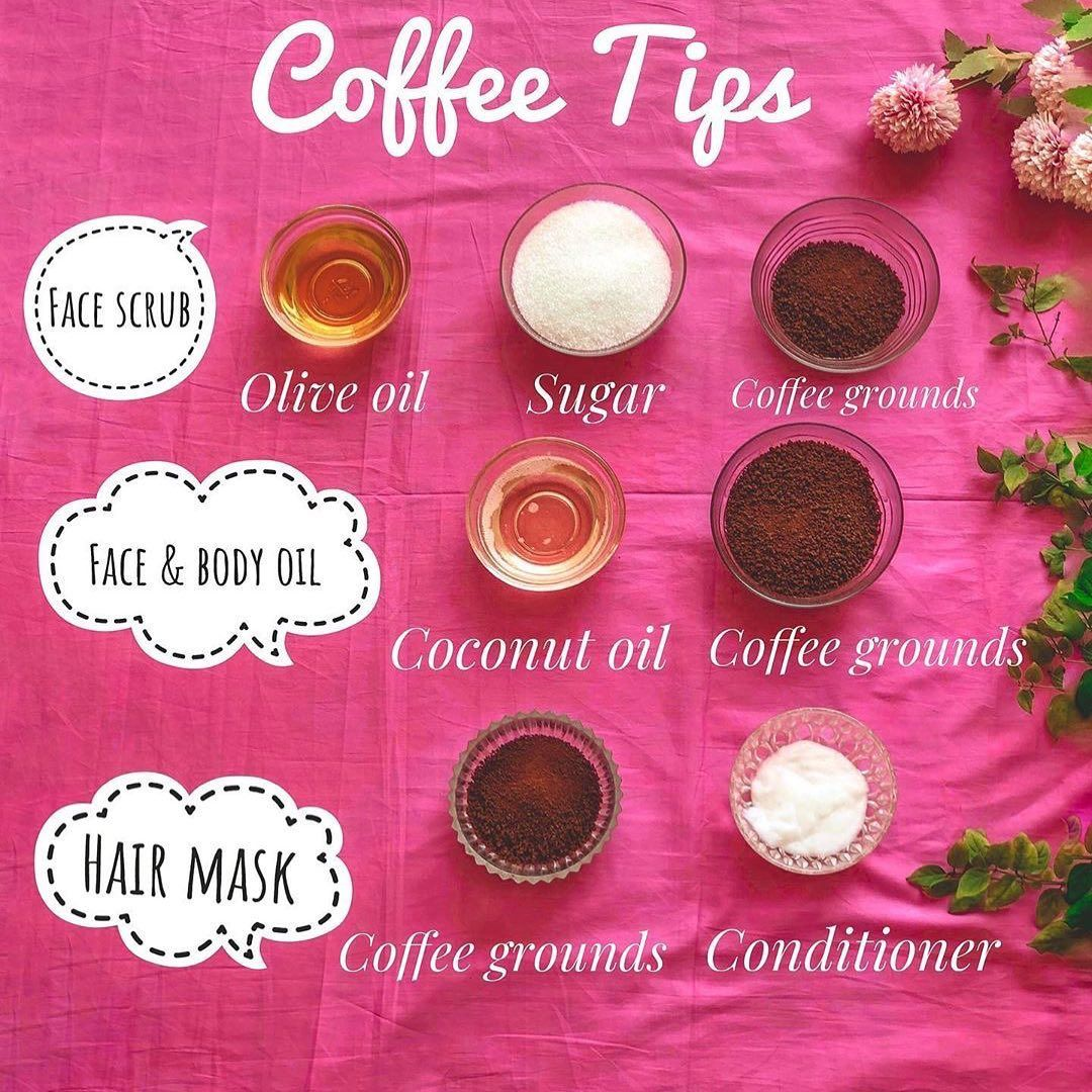 Posted withrepost • glasscosmeticsofficial DIY COFFEE