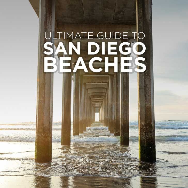 San Diego is known for its sunny weather and beaches. Here's your ultimate guide to all the San Diego Beaches plus a map to help you get around.
