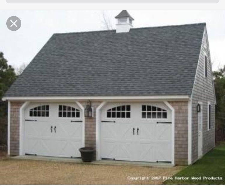 Idea by Maureen on Garages Two car garage, Garage door