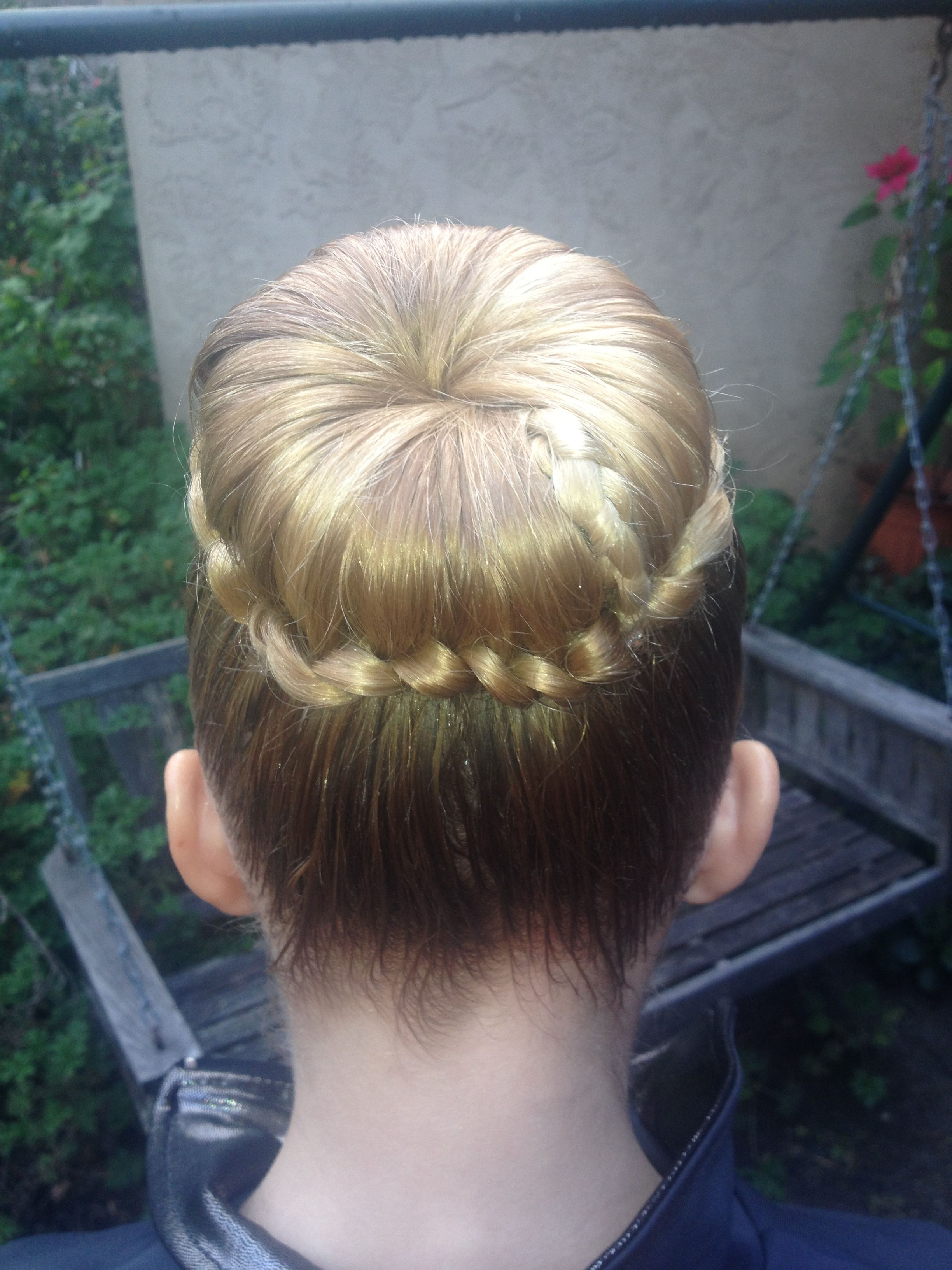Gymnastic up do Hair Styles Pinterest