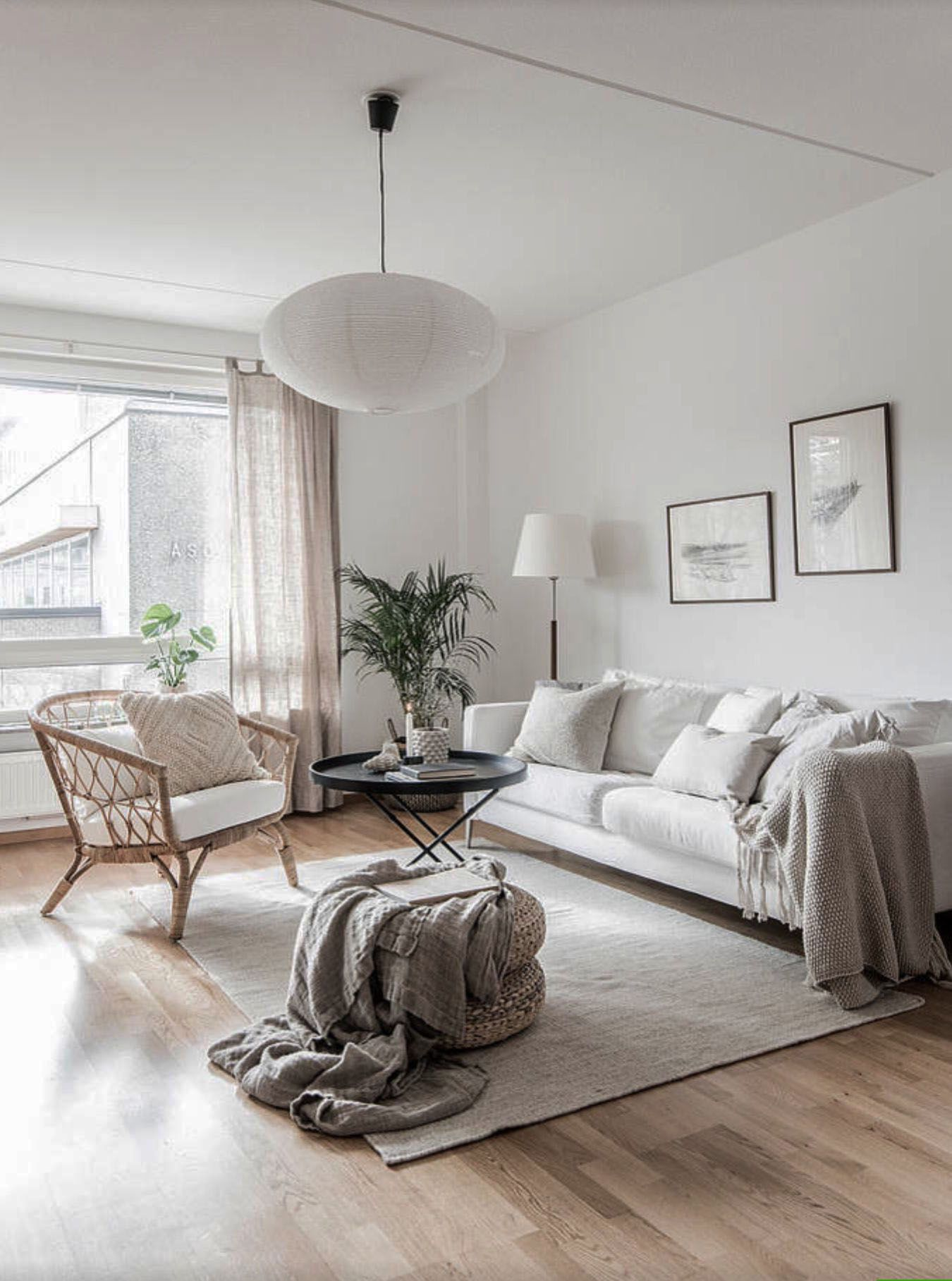 Fascinating Scandinavian Interior Design Philippines To Refresh Your Home Apartment Living Room Living Room Decor Neutral Living Room Scandinavian