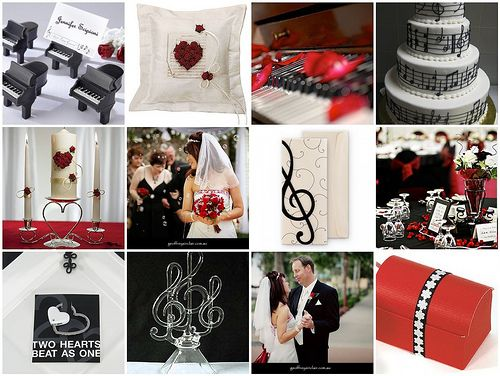 Musical Wedding Decorations Theme 2c