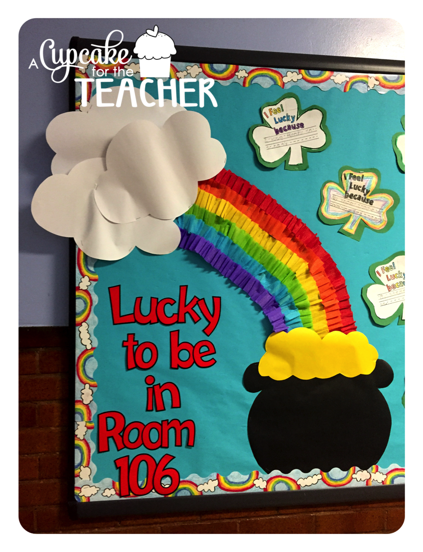 March Bulletin Board And A Craftivity Kinderland