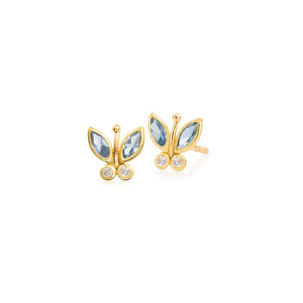 Butterfly Little Girl's Stud Earring