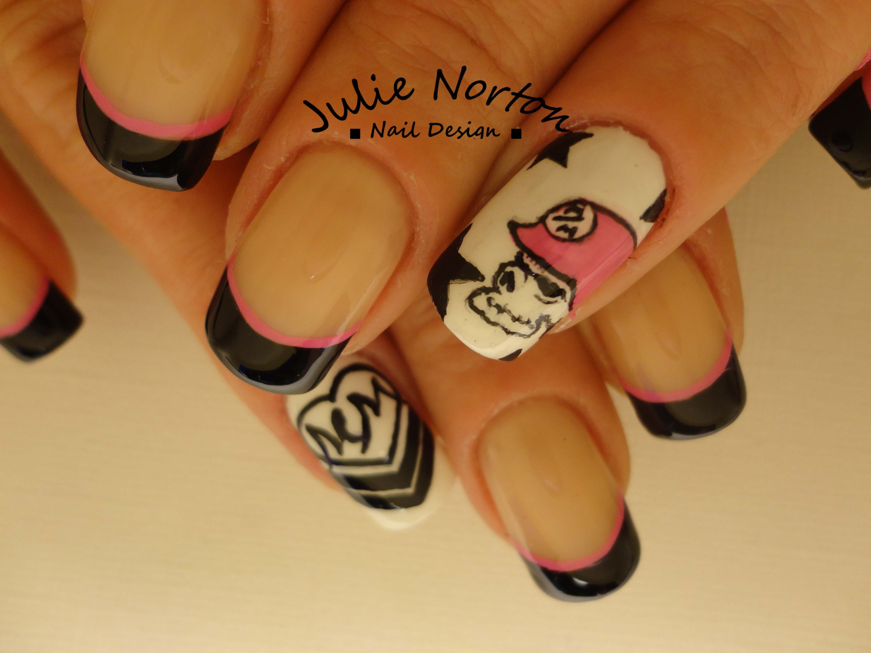 Metal Mulisha Nails <3 | Hair,makeup,nails | Pinterest