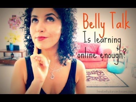 Belly Talk: is learning belly dancing online enough?