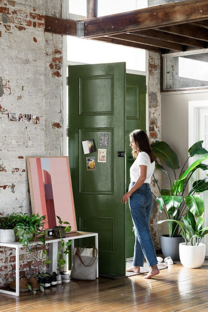 Hunter / Olive Green | Gravity Home: Warehouse Apartment Hunting For George
