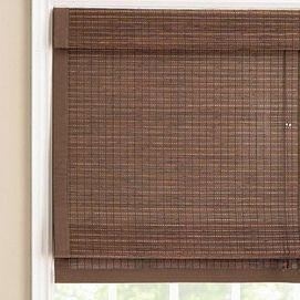 Whole Home 174 Md Dean Bamboo Roman Shade With 6 Attached