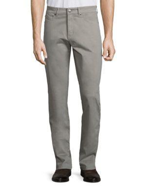 Peter Millar Crown Sateen Stretch Five-Pocket Pants. #petermillar #cloth #pants