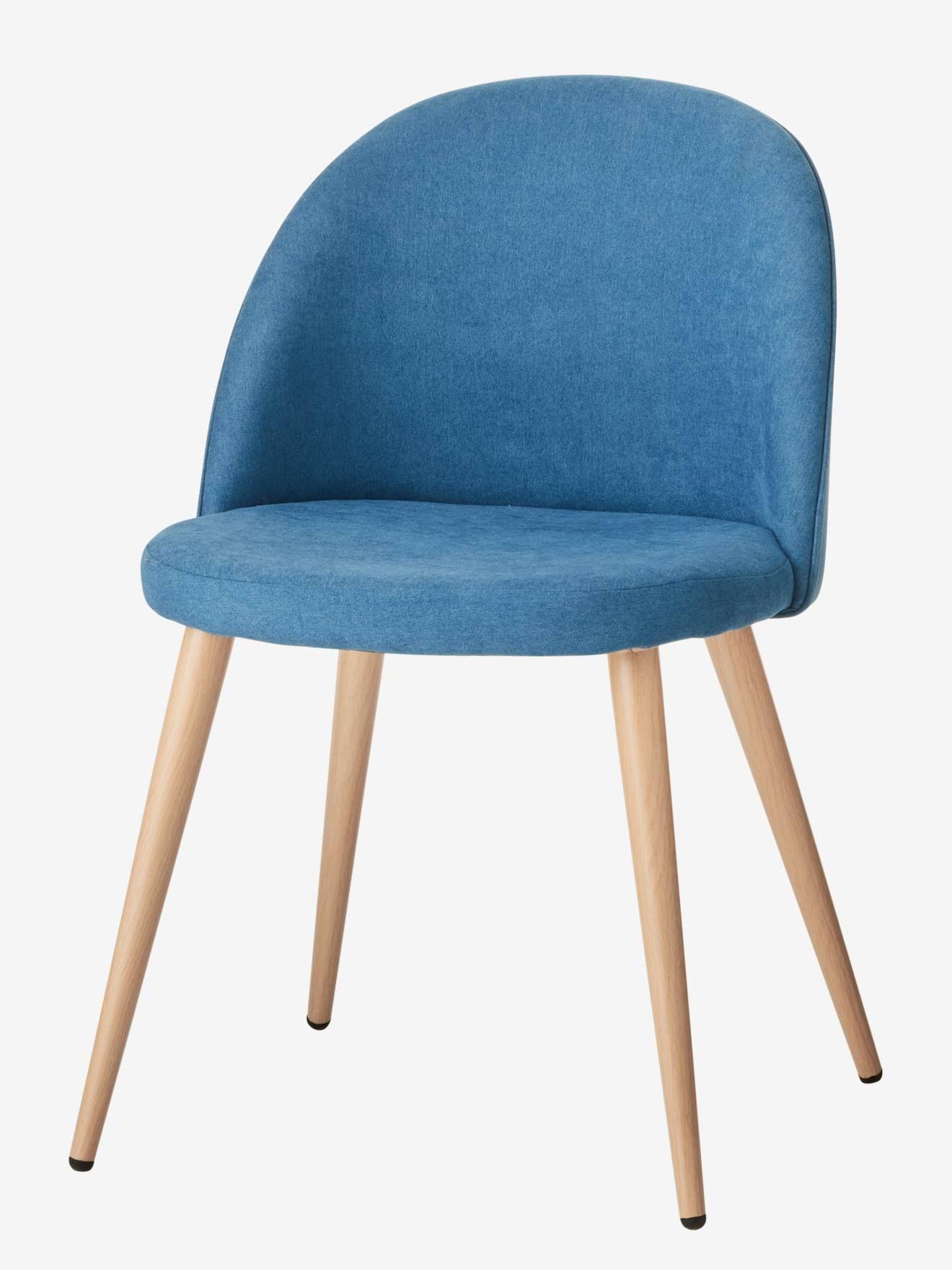 Chaise De Bureau Primaire Bubble Bleu Vertbaudet Chaise Bureau
