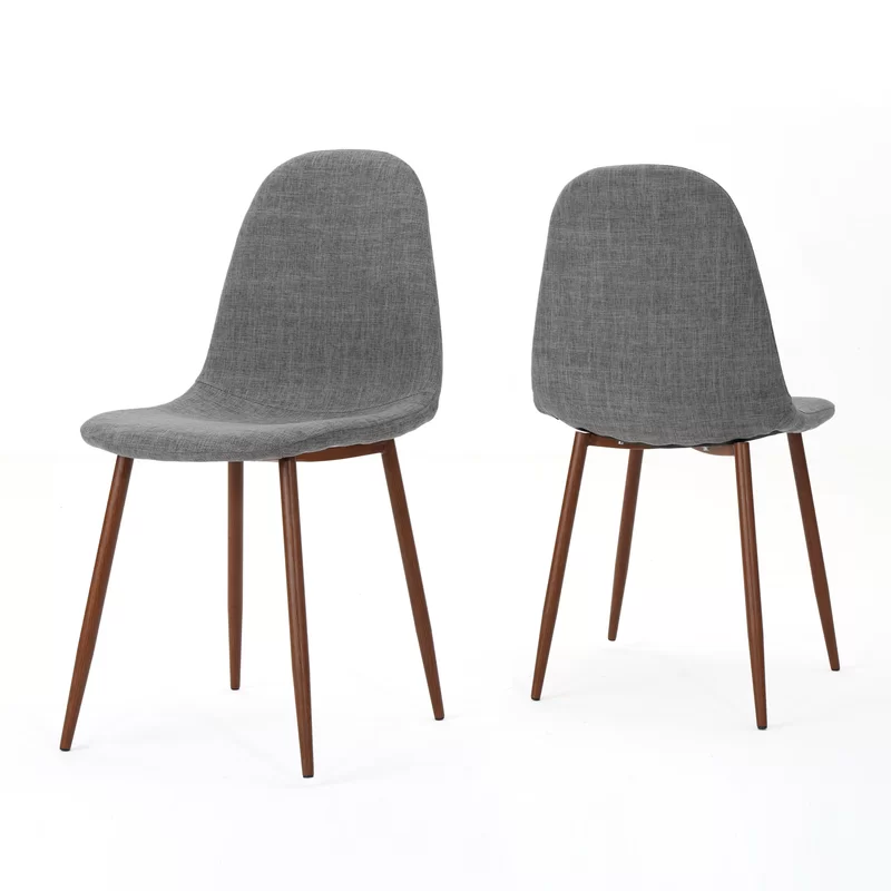 Christopher Upholstered Dining Chair In 2020 Mid Century Dining Chairs Mid Century Modern Fabric Dining Chairs Dining Chairs